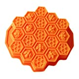 Wholeport Honeycomb Cake Molds for Kids 17-Hole Silicone - Best Reviews Guide