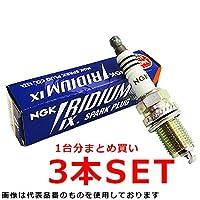 ダイハツ タント カスタム NGK イリジウムIXプラグ 3本セット BKR6EIX L350S L360S EF-VE DOHC イリジウムプラグ ナイン