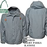 Washed Light Parka 3015: Blue Stone