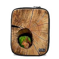 Ledback タブレット保護スリーブ 柄 液晶保護 マウス/パワーパック デザイン 8-10インチ用保護ケース 個性的なデザイン タブレットバッグ IPADケース