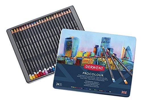 ダーウェント プロカラー色鉛筆 24色セット