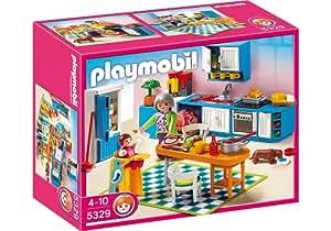 プレイモービル 新ドールハウス キッチン 5329
