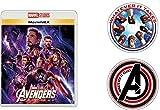 【Amazon.co.jp限定】アベンジャーズ/エンドゲーム MovieNEX [ブルーレイ+DVD+デジタルコピー+MovieNEXワールド](オリジナルステッカーセット付き) [Blu-ray]