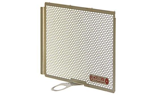 MOTO CORSE(モトコルセ) プロテクションスクリーン オイルクーラー チタニウム シャンパンゴールド DUCATI MULTISTRADA1200 15- MCTP0054