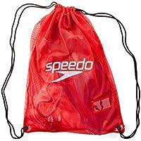 Speedo 35L Mesh Equipment Bag Red