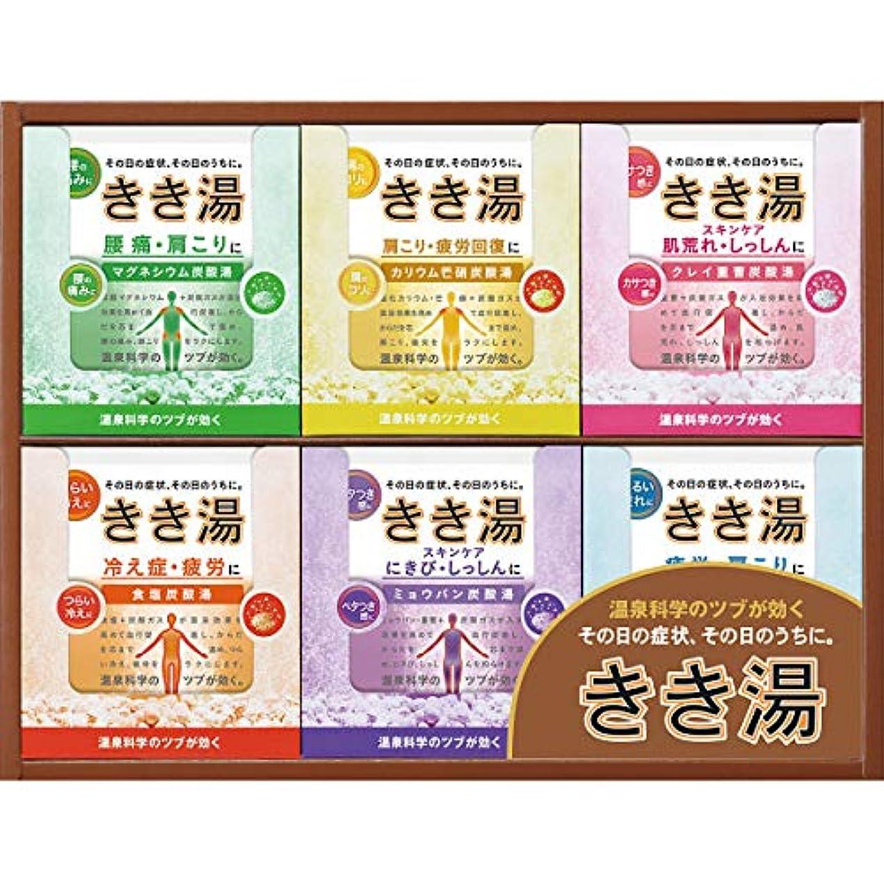 ステンレス刈る浸食【ギフトセット】 きき湯オリジナルギフトセット KKY-15C