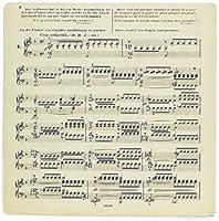 3drose LLC 8x 8x 0.25インチマウスパッド、ドイツヴィンテージ音楽シート( MP _ 151103_ 1)
