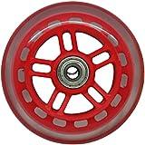 JD RAZOR 4インチ ホイール リム色付 ホイール(ベアリング付) RED