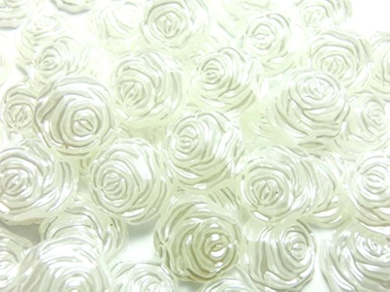 遊具細部ストレージ【ラインストーン77】超高級 パールストーン 各サイズ選択可能 2mm~8mm ホワイト (バラ 12mm (約5粒))