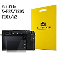 【BACKPACKER】 カメラ液晶保護ガラス 液晶プロテクター 0.33mm強化ガラス 9H硬度 高鮮明 (FUJIFILM X-E3/X-T20/X-T10/X-A2用)