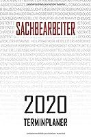 Sachbearbeiter - 2020 Terminplaner: Kalender und Organisator fuer Sachbearbeiter. Terminkalender, Taschenkalender, Wochenplaner, Jahresplaner, Kalender 2019 - 2020 zum Planen und Organisieren