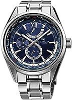 [オリエント]ORIENT 腕時計 ORIENTSTAR オリエントスター ワールドタイム 機械式 自動巻き (手巻き付き) ネイビー WZ0041JC メンズ