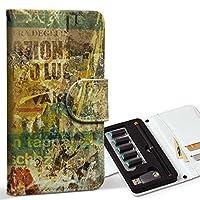 スマコレ ploom TECH プルームテック 専用 レザーケース 手帳型 タバコ ケース カバー 合皮 ケース カバー 収納 プルームケース デザイン 革 ユニーク 英語 文字 ビンテージ 002488