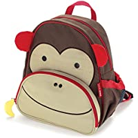 Skip Hop Zoo Pack Little Kids Backpack, Monkey