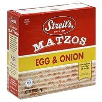 Streits Matzo Egg Onion 11 Oz -Pack of 12 [並行輸入品]