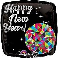 18「新しい年ボールドロップホイルバルーン