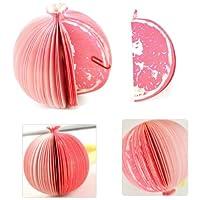 【BlueSea】3Dフルーツメモ帳 ざくろ【果物のオシャレな立体メモ帳】