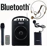 ポータブルPAシステム/ワイヤレスマイク Bluetooth対応 HS210 Hisonic社【並行輸入】
