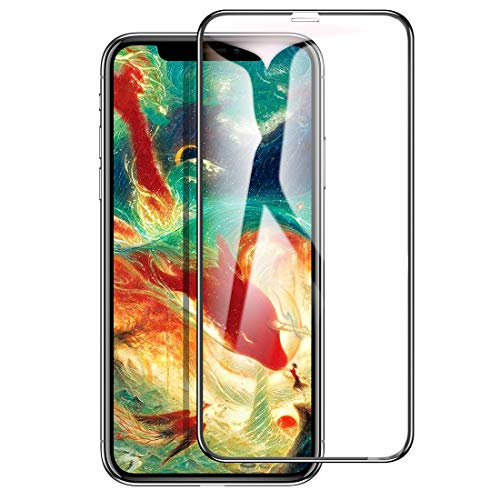 iPhone X ガラスフィルム iPhone X 液晶保護フィルム [高鮮明 9H硬度] [全面保護シート] [0.3mm薄さ 気泡防止] [3D Touch対応][GX Series]【Humixx】