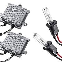 EP/NP90系 スターレット 極HIDキット 瞬間起動 H3 フルキット フォグランプ用 製品保証付 薄型バラスト 10000K 55W