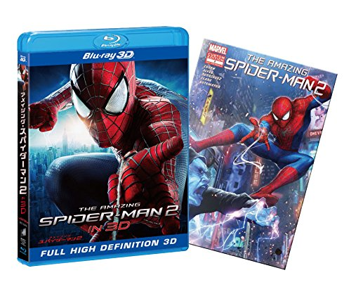 アメイジング・スパイダーマン2TM IN 3D (3D&2D ブルーレイセット) (初回限定版) [Blu-ray]の詳細を見る