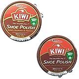 KIWI キウイ 靴クリーム 2個セット 茶2個