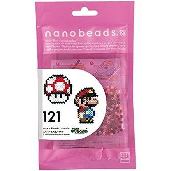 ナノビーズ 121 スーパーキノコ/マリオ 80-63045