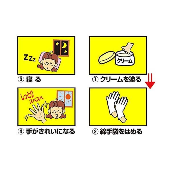 白十字 綿手袋 左右兼用 M 1組(2枚)入の紹介画像2
