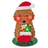サンリオ クリスマスカード 洋風 ライト&メロディ ふかふかトイプードル  S6334