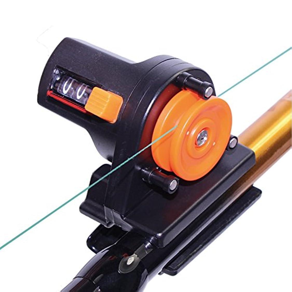 Croch  デプスチェッカー 釣り具 アクセサリー ブラック