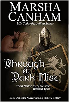 Through A Dark Mist (Robin Hood Trilogy Book 1) by [Canham, Marsha]