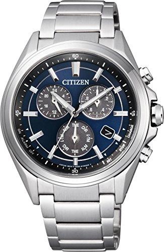 [シチズン]CITIZEN 腕時計 ATTESA アテッサ Eco-Drive エコ・ドライブ メタルフェイス 多機能 クロノグラフ BL5530-57L メンズ
