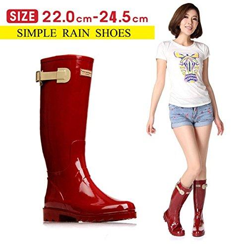 (マリア)MARIAHレディースシューズレインブーツおしゃれレインブーツロング丈梅雨対策晴雨兼用完全防水雨靴