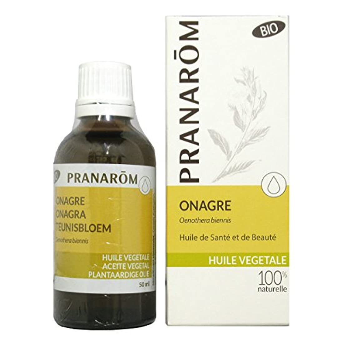 孤独なラウンジ売るプラナロム イブニングプリムローズオイル 50ml (PRANAROM 植物油)