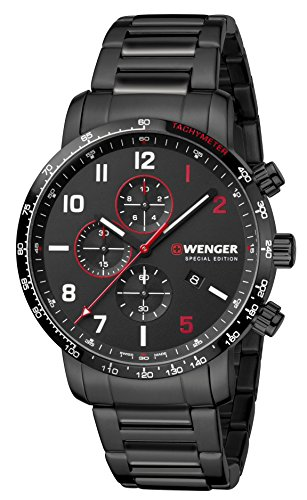 [ウェンガー]WENGER 腕時計 10気圧防水 Attit...