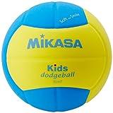 ミカサ ドッジボール スマイルドッジボール2号 イエロー/ブルー 軽量約160g 小学校/キッズ用 SD20-YBL