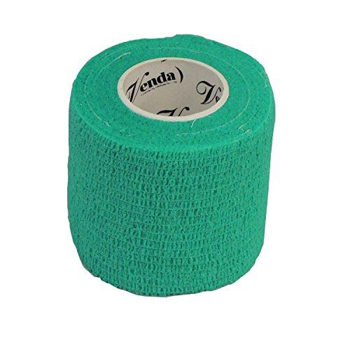 自着性 伸縮包帯 クイックテープ 50mm×4.5m グリーン