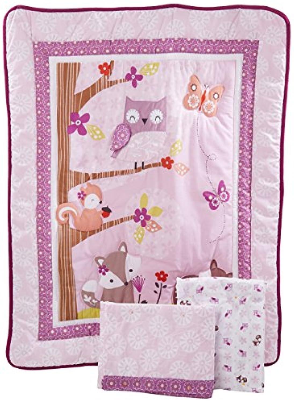 Bedtime Originals Lavender Woods 3 Piece Bedding Set [並行輸入品]