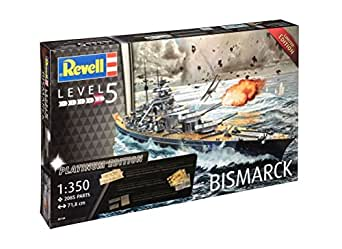 1/350 ドイツ海軍 戦艦 ビスマルク プレミアムエディション プラモデル 05144