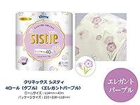 まとめ買いトイレットペーパー|日本製紙クレシア クリネックス システィ シックエレガント ダブル40m 4Rx10P