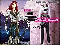 FGO Fate/GrandOrderフェイトグランドオーダー トリスタン コスプレ衣装+手袋+腕輪 全セット