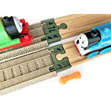 TrainLab Adapters Compatible with Trackmaster (2009) to Wooden Railways Train Tracks