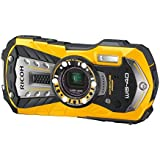RICOH 防水デジタルカメラ RICOH WG-40 イエロー 防水14m耐ショック1.6m耐寒-10度 RICOH WG-40 YL 04681