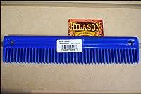 Hilason Horseグルーミングプラスチックたてがみと尾コーム9インチ