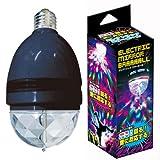 エレクトリックミラーボール ブラック パーティーグッズ ライト