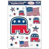 Republican Party Peel 'N Place 共和党ピール'Nの位置に配置?ハロウィン?クリスマス?