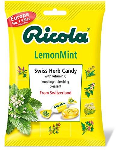 リコラ レモンミント ハーブキャンディ 70g×6個