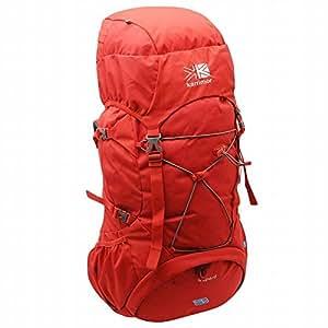 カリマー karrimor バックパック 背面調整可能 レインカバー内蔵 軽量 大容量65L+5L ハイドレーションシステム (RED) [並行輸入品]