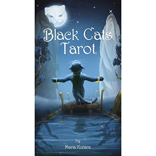 ブラックキャッツ・タロット 日本語解説書付き Black Cats Tarot