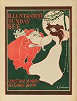 Illustrated日曜日Bee–クリスマス数ヴィンテージポスター(アーティスト: Greene ) USA C。1896 12 x 18 Art Print LANT-63180-12x18